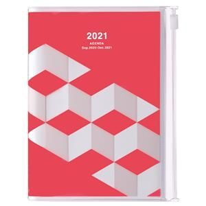 AGENDA MARK'S 2021 A6 GEOMETRIC PINK