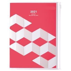 AGENDA MARK'S 2021 A5 GEOMETRIC PINK