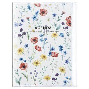 AGENDA MARK'S 2021 A5 FLOWER IVORY