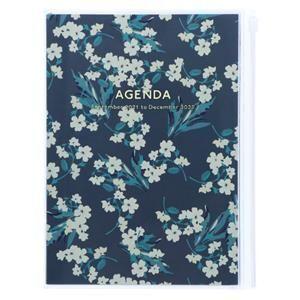 AGENDA 2022 A5 MARK'S FLOWER NAVY