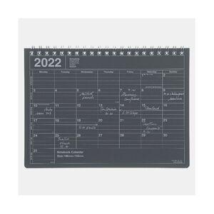 NOTEBOOK CALENDAR 2022 S/ BLACK