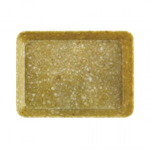 MARBLED DESK TRAY M YELLOW