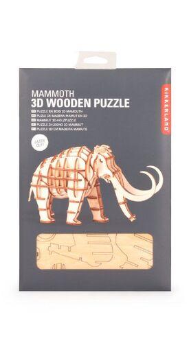 PUZZLE 3D MAMUT