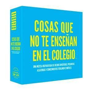 COSAS QUE NO TE ENSEÑAN EN EL COLEGIO