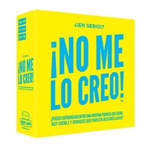 ¡NO ME LO CREO!