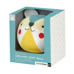 ORGANIC SOFT BALL CHIMING BEAR