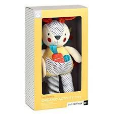 ORGANIC ACTIVITY TOY BUSY BUNNY PETIT COLLAGE
