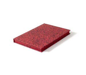 CUADERNO SPRAY SPLASH RED