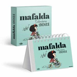 CALENDARIO 2021 MAFALDA - TURQUESA