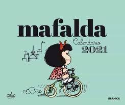 CALENDARIO MAFALDA 2021 - TURQUESA