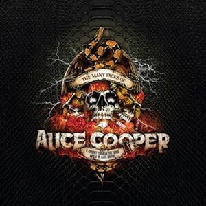THE MANY FACES OF ALICE COOPER (LP)