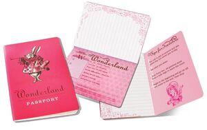 LLIBRETA WONDERLAND PASSPORT