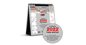 CALENDARIO 2022 SOBREMESA 14X15 BASIC MIQUELRIUS