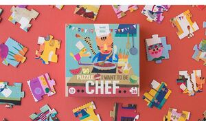 PUZZLE I WANT TO BE CHEF (36PC)