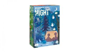 DAY & NIGHT IN THE FOREST · PUZZLE REVERSIBLE