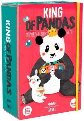 KING OF PANDAS MEMORY & ACTIONS GAME