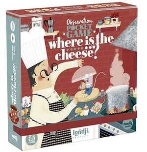 WHERE IS THE CHEESE? - OBSERVATION POCKET GAME