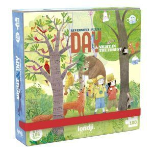 DAY & NIGHT IN THE FOREST (POCKET PUZZLE)