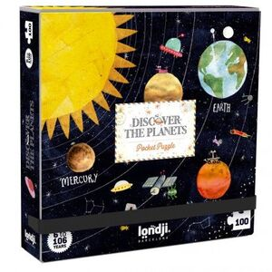 DISCOVER THE PLANETS (POCKET PUZZLE)