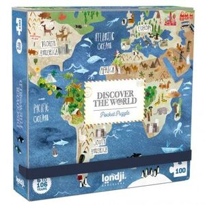 DISCOVER THE WORLD (POCKET PUZZLE)