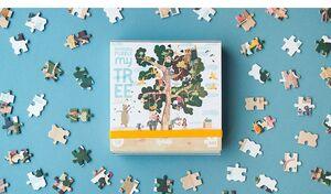 MY TREE POCKET REVERSIBLE PUZZLE 100PC