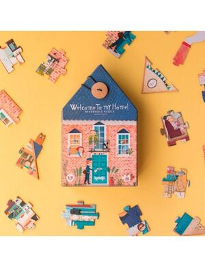 WELCOME TO MY HOME! REVERSIBLE PUZZLE
