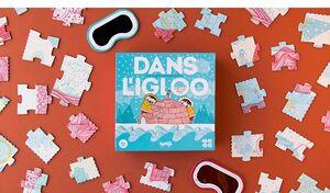 DANS L'IGLOO · 4 PUZZLES PROGESIVOS · AINA BESTARD