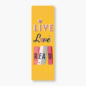MARCAPÁGINAS - LIVE LOVE READ