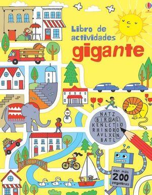 LIBRO DE ACTIVIDADES GIGANTE