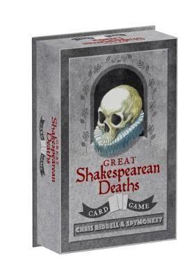 GREAT SHEKASPEARE DEATHS · CARD GAME