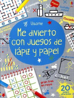 JUEGO DE LAPIZ Y PAPEL