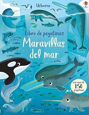 MARAVILLAS DEL MAR - LIBRO DE PEGATINAS