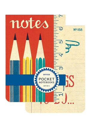 2 POCKET NOTEBOOK NOTES