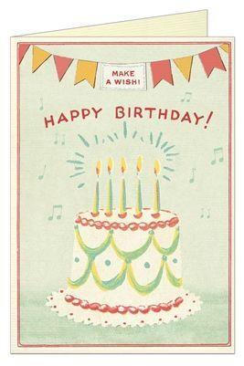 POSTAL HAPPY BIRTHDAY CAKE