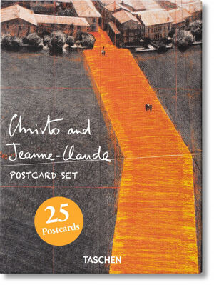 CHRISTO AND JEANNE-CLAUDE. POSTCARD SET