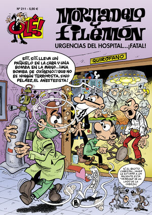 OLE MORTADELO 211.URGENCIAS DEL HOSPITAL
