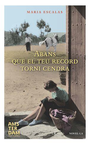 ABANS QUE EL TEU RECORD TORNI CENDRA - CAT 5ªED