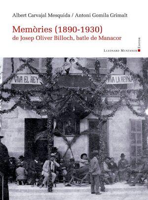 MEMORIES (1890-1930) DE JOSEP OLIVER BILLOCH