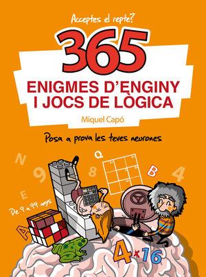 365 ENIGMES D'ENGINY I JOCS DE LÒGICA