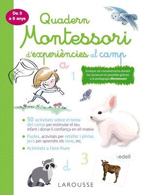 QUADERN MONTESSORI DE EXPERIENCIES AL CAMP