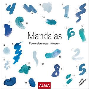 MANDALAS PARA PINTAR POR NÚMEROS (COL. HOBBIES)
