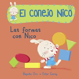 CONEJO NICO. LAS FORMAS CON NICO(CARTO)