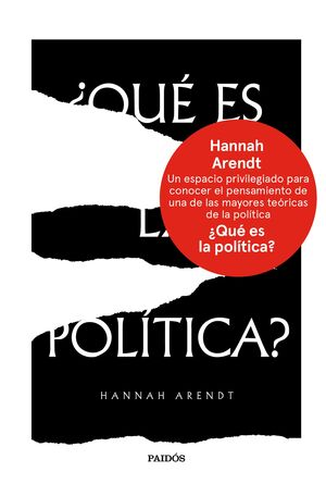 ¿QUE ES LA POLITICA?