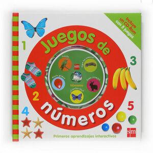 JUEGOS DE NÚMEROS + CD-ROM