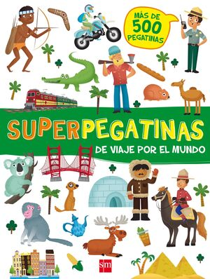 DE VIAJE POR EL MUNDO SUPERPEGATINAS