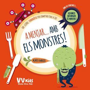 A MENJAR AMB ELS MONSTRES (VICENS VIVES KIDS)