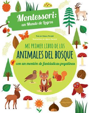 MI PRIMER LIBRO DE LSO ANIMALES DEL BOSQUE