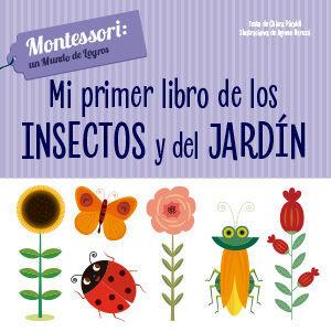 MI PRIMER LIBRO DE INSECTOS Y JARDIN (VVKIDS)