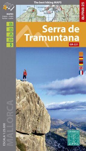 SERRA DE TRAMUNTANA GR-221 [4 MAPES]