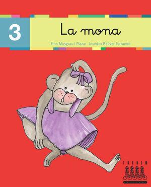 XINO-XANO LECTURA Nº 3 LLETRA LLIGADA. LA MONA